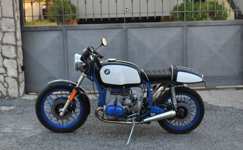 caféracersunited | bmw r100rs cafe racer