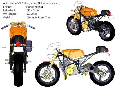 Honda XR650L Cafe Racer 6