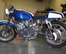 Suzuki GS550 Cafe Racer