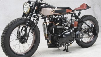 Triumph TT Deluxe Cafe Racer by LC Fabrications void