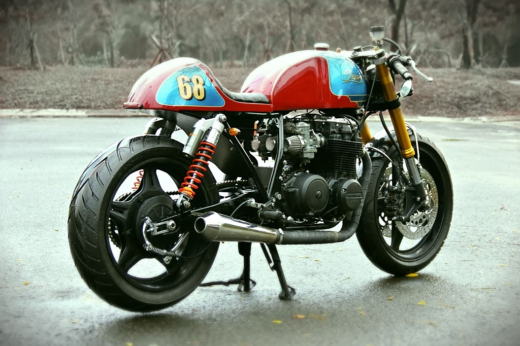 "caferacersunited | honda cb650 cafe racer ""the tricore"""