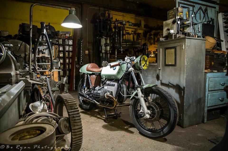 Bmw Cafe Racer R90 by Erik Alaskan Void
