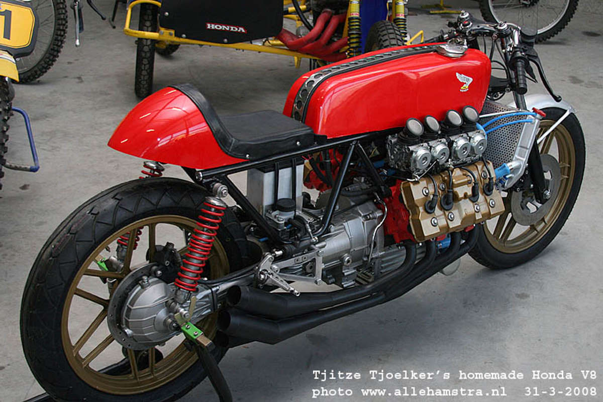 Honda Cafe Racer V8 by Tjitze Tjoelkers Void