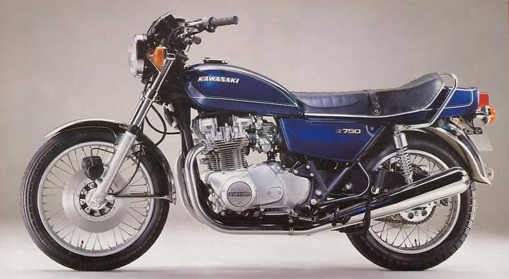 Kawasaki KZ750 Tracker La Loma 750 by Valtoron old
