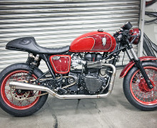 Triumph Thruxton Cafe Racer Hawkized II Void