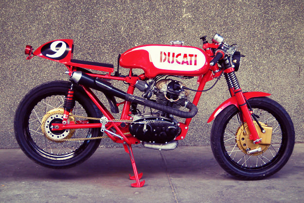 Cafe Racer Dreams 125 a Ducati Cafe Racer 125
