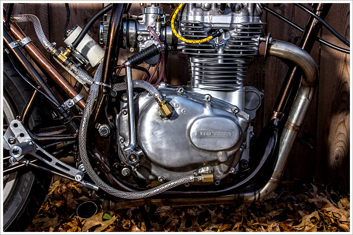 caferacersunited | honda cb360 cafe racer, the 3rm project