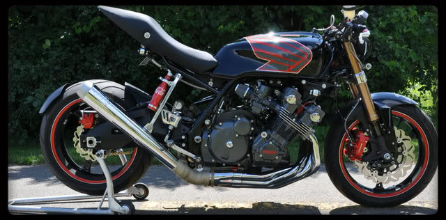 Honda CBX1000 Cafe Racer by Mike Common 3