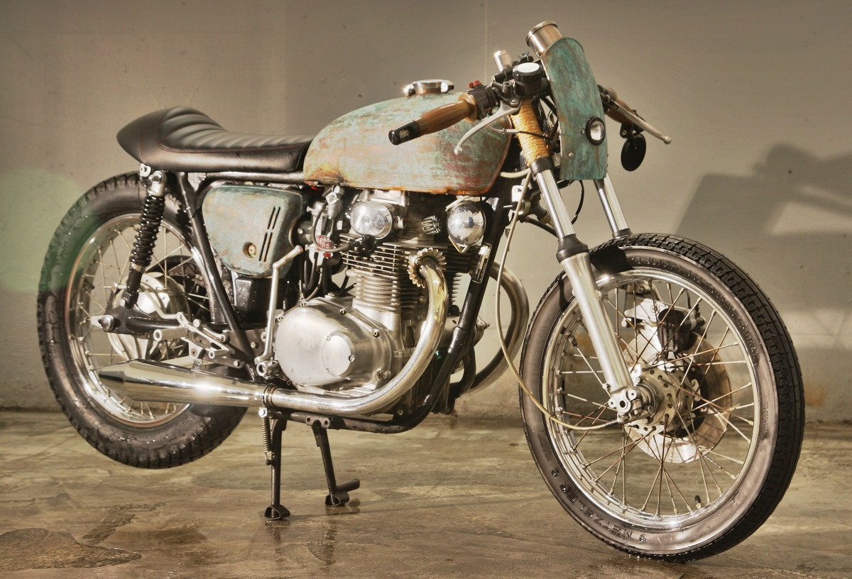 Honda Cb250 Cafe Racer Little Liberty by Klassik Kustoms