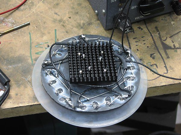 How To Make a LED Headlight for Cafe Racers 14