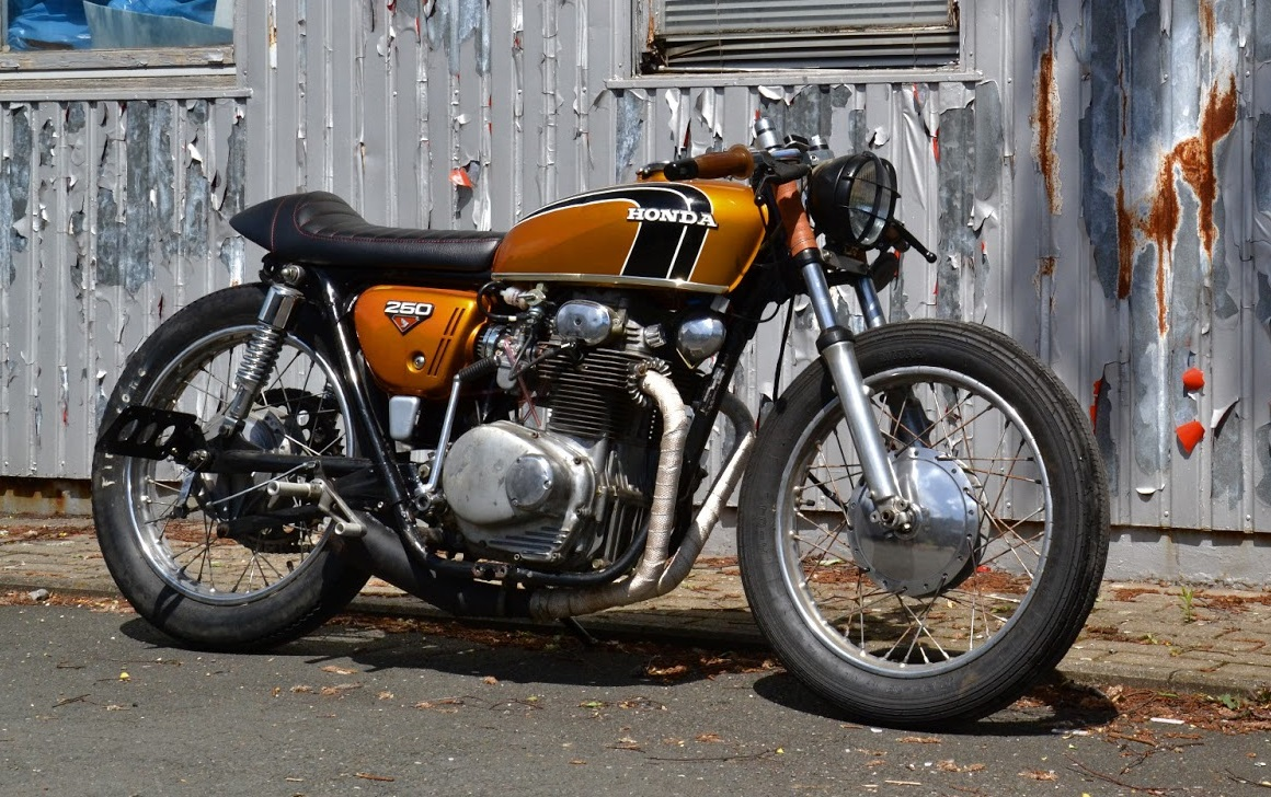 caferacersunited | honda cb250 cafe racerklassik kustoms