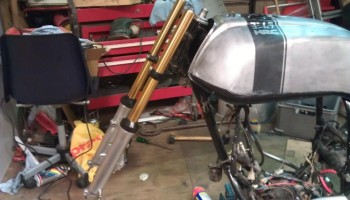 How to anodize Cafe Racer Parts 2