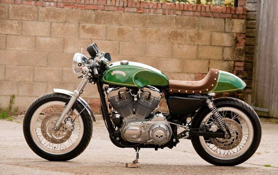 Extrêmement CafeRacersUnited.com | Harley Davidson Cafe Racer by Racy Rach and  OV28