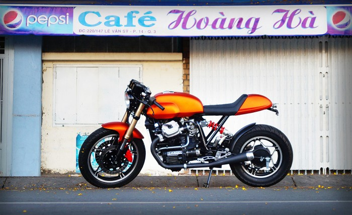 Honad CX650 Cafe Racer 2
