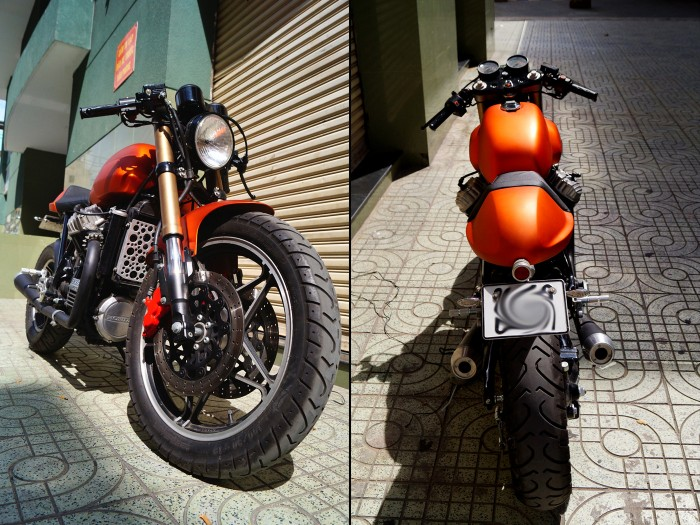 Honad CX650 Cafe Racer 3