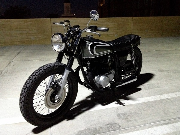 caferacersunited | honda cb360 cafe racerdallas ziebell