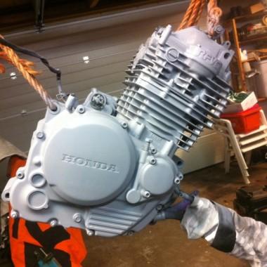 Honda Cafe Racer Engine Coat