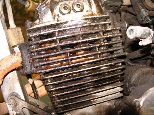 Honda Cafe Racer Engine