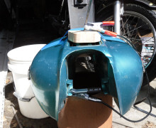 Remove Rust From A Fuel Tank 1