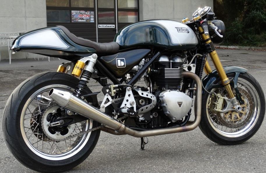 Triton Cafe Racer by Brital Moto 1