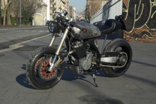 caferacersunited | honda nx650 cafe racerv motorcycles (italy)