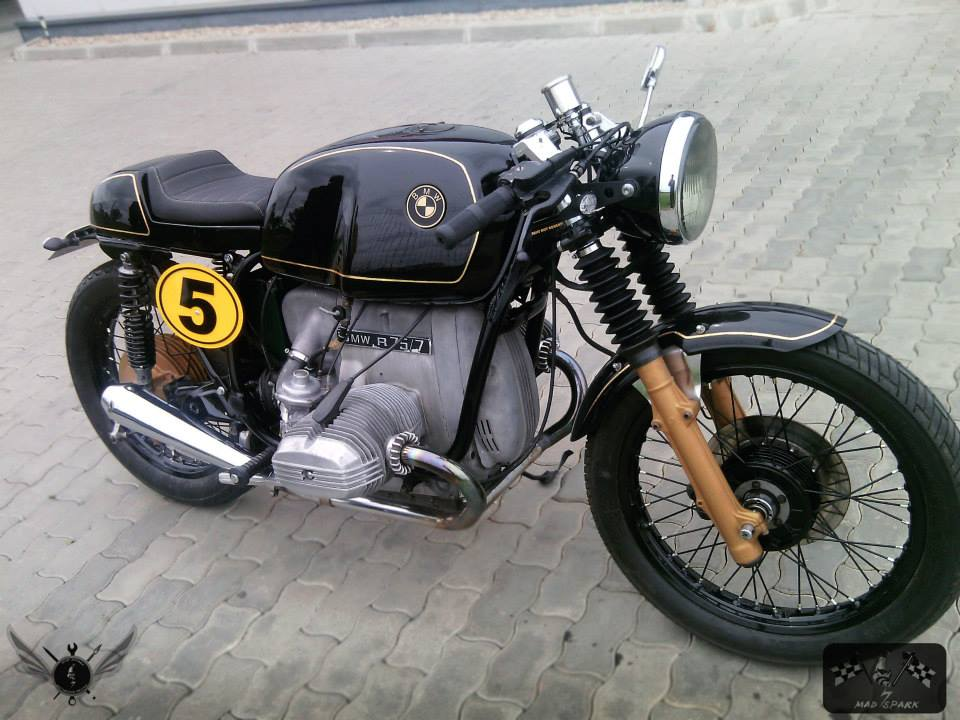 Populaire Cafe Racers United.com| BMW R75 Cafe Racer by Mad Spark Moto BI89