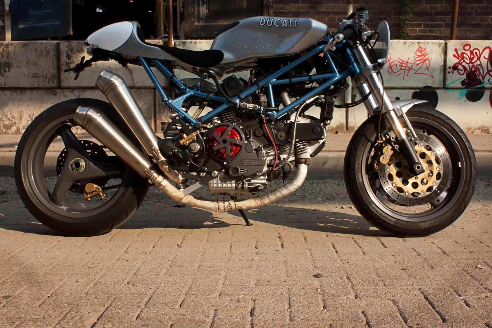cafe racers united | ducati monster 900 cafe racer