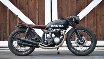 Honda CB550 Brat by S&G 1