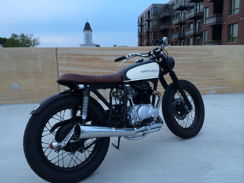 cafe racers united | honda cb360 cafe racerdallas ziebell