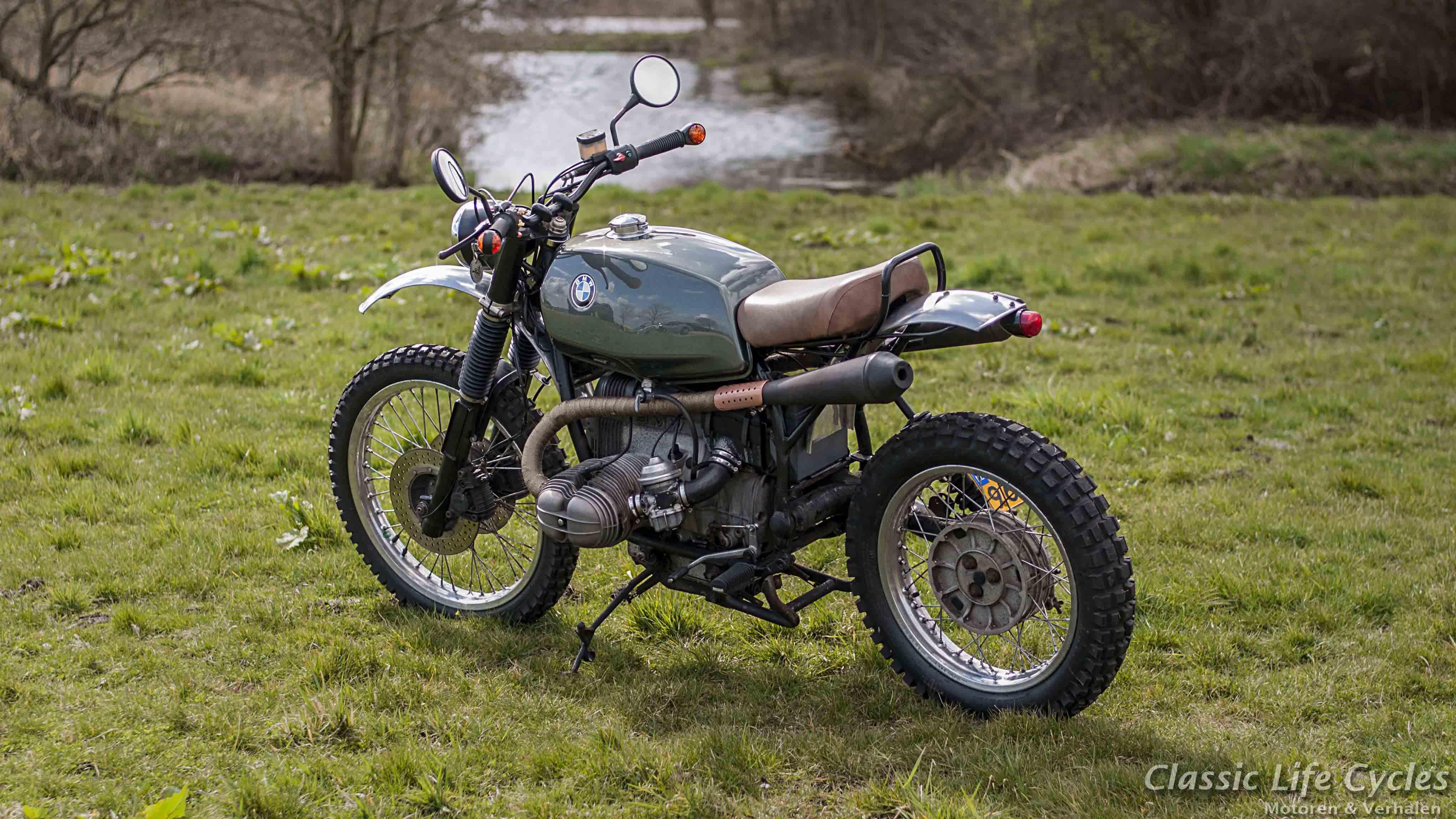 Fabuleux Paul's Motorcycles - BMW R80 Scrambler QC05