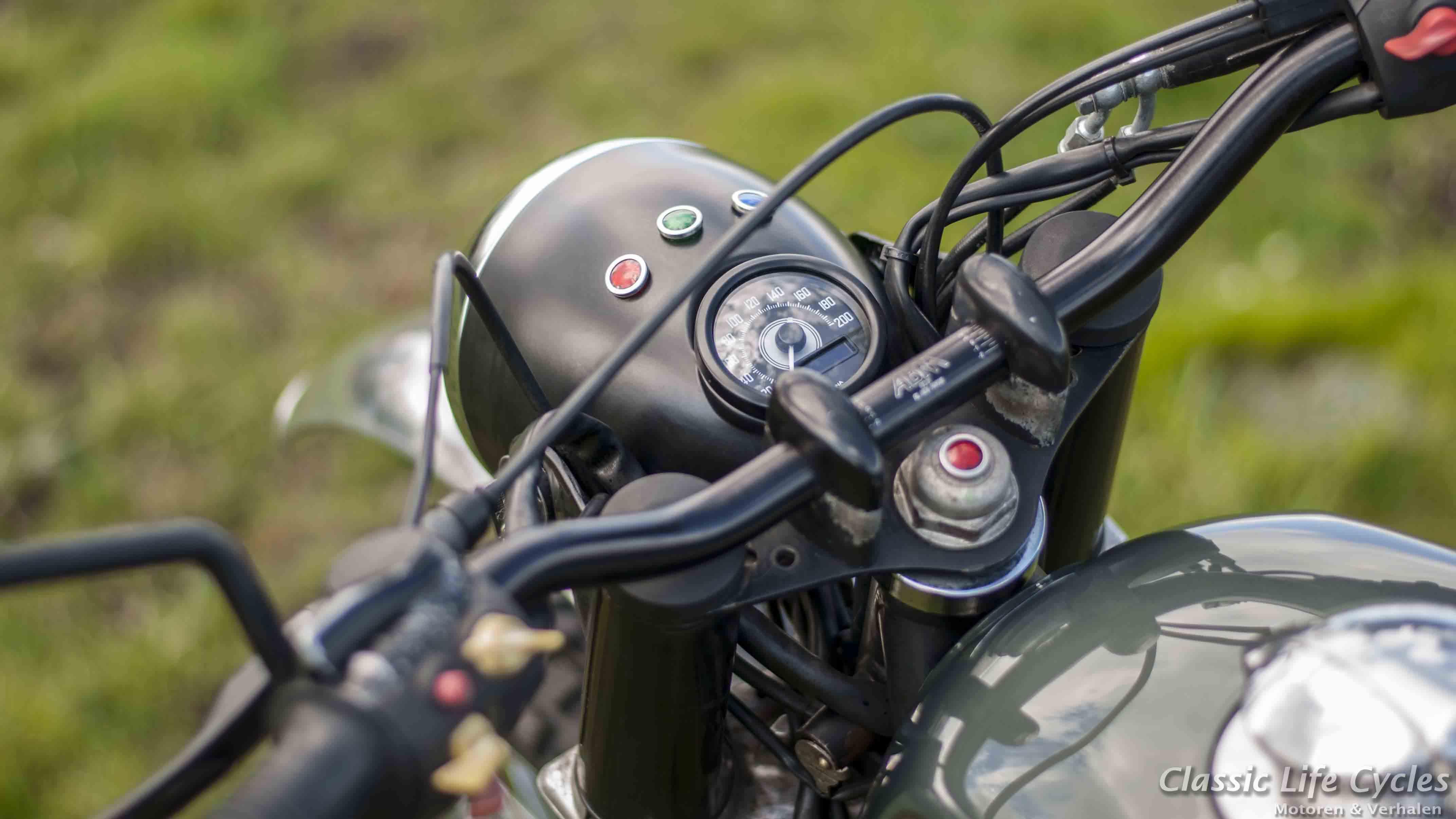 Assez Paul's Motorcycles - BMW R80 Scrambler HI13