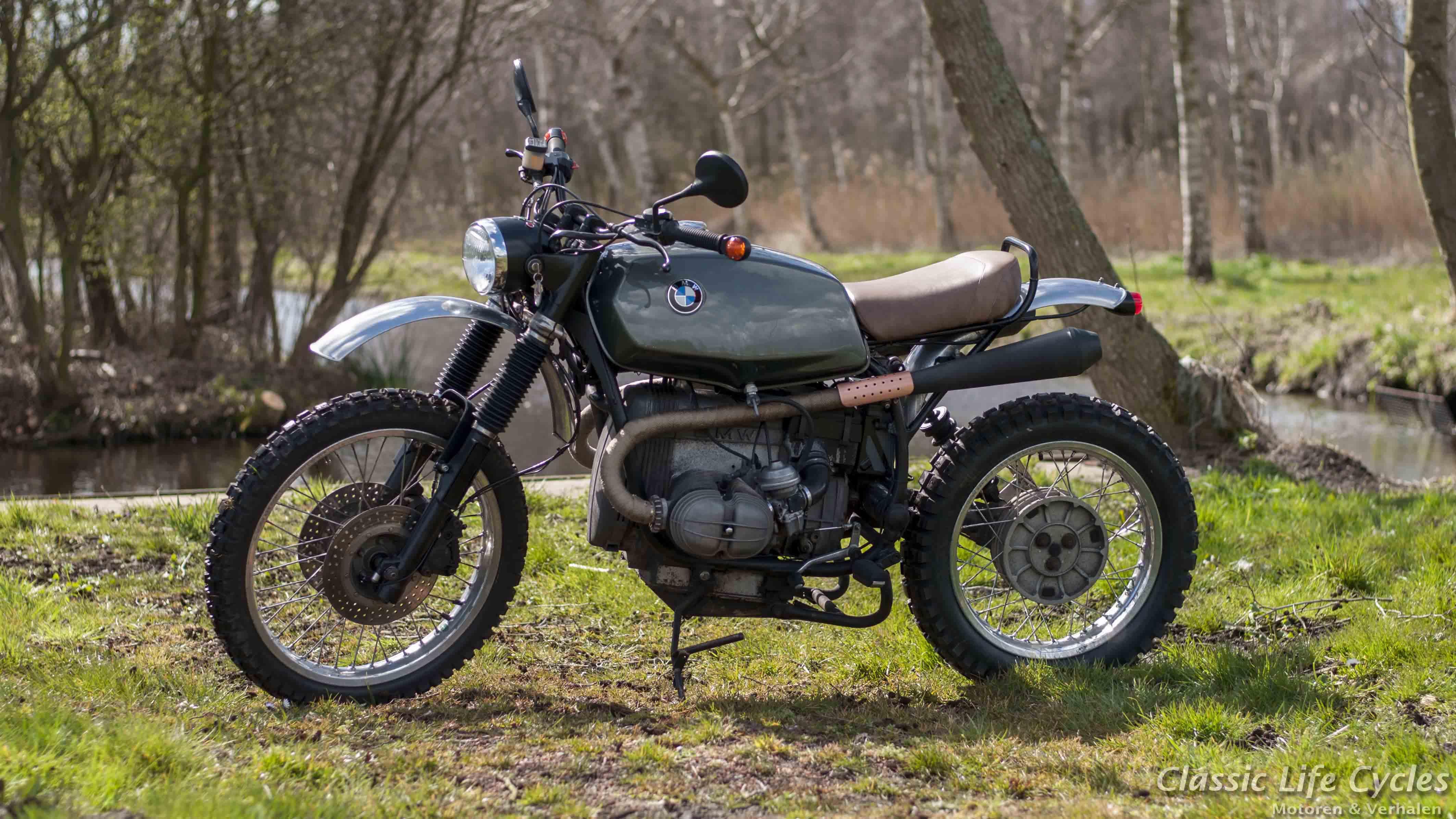 Bien connu Paul's Motorcycles - BMW R80 Scrambler XO11