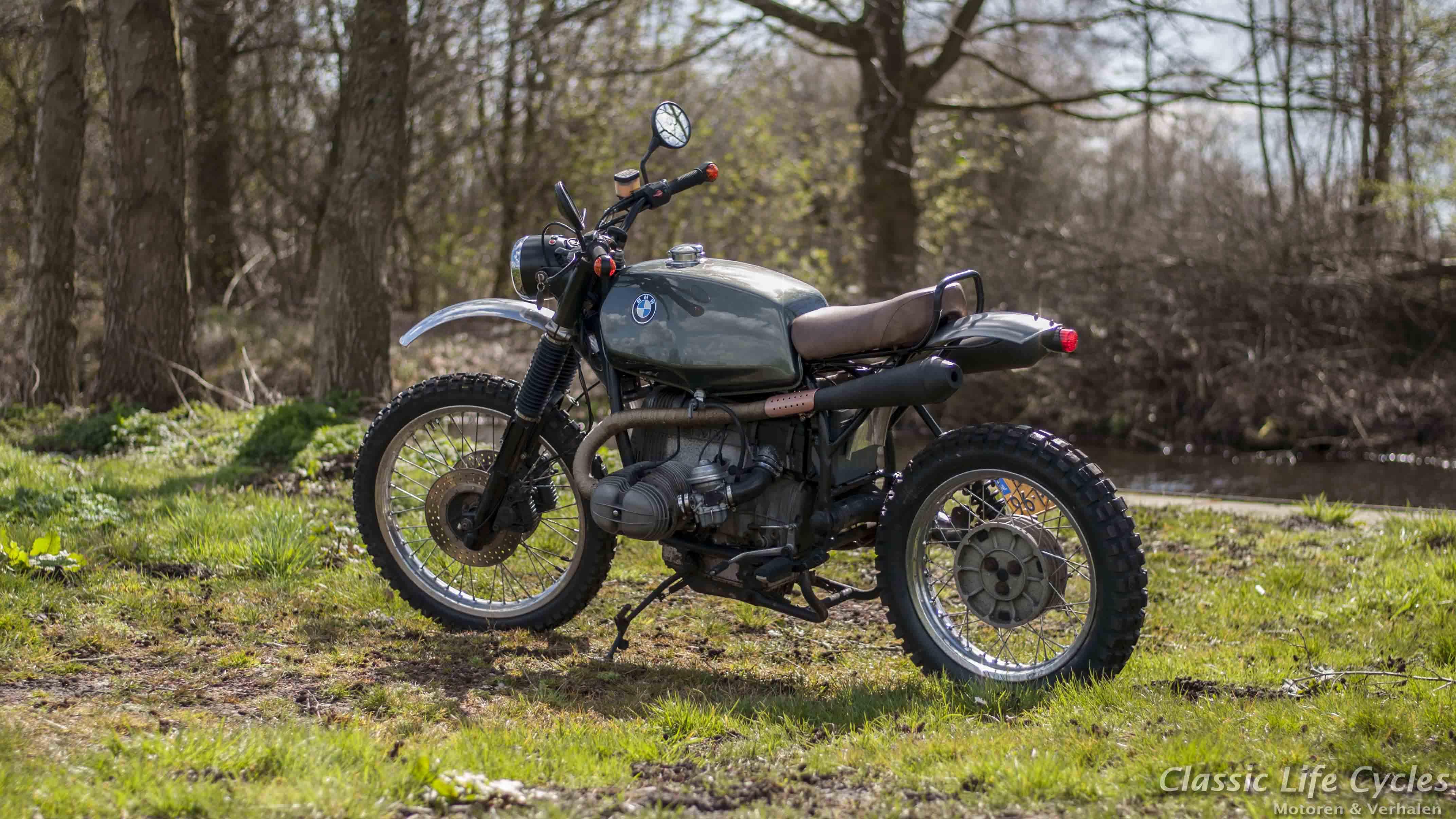Souvent Paul's Motorcycles - BMW R80 Scrambler FQ76