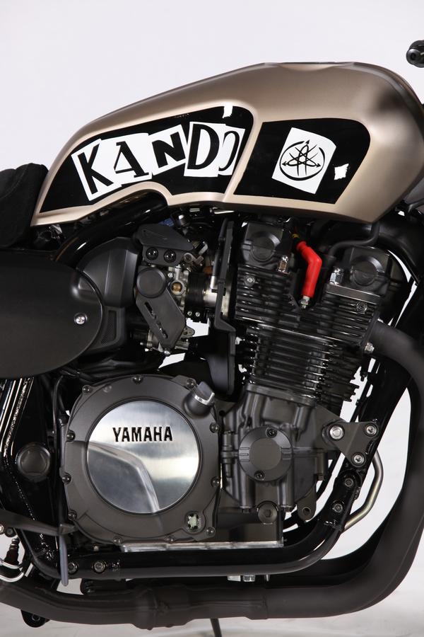 Yamaha XJR1300 Cafe Racer 4
